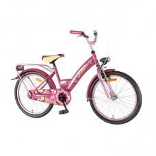 """Meiteņu velosipēds Shimer, rozā krāsā, diametrs 20"""""""