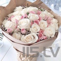 Rožu pušķis Princese, garums 50cm