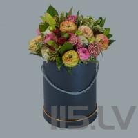 Rožu Mix-2, cilindra cepuru kastē