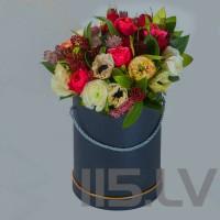 Rožu Mix-3, cilindra cepuru kastē